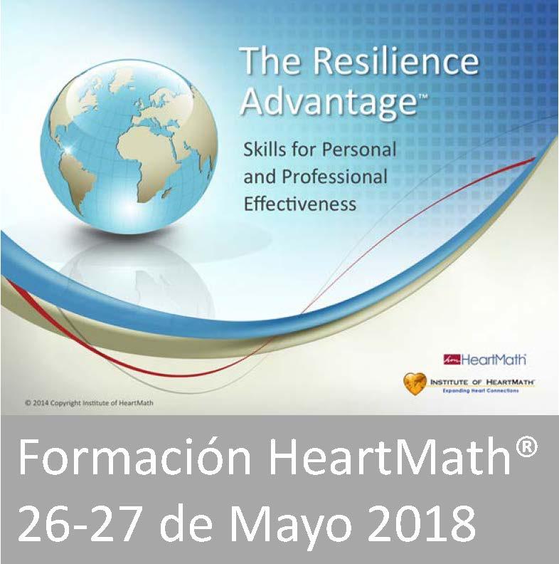 Formación HeartMath en Barcelona 2018